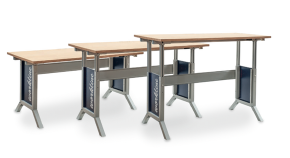 Height Adjustable Worktables