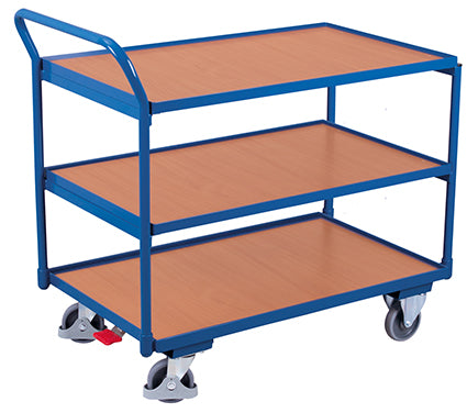 Shelf Trolley with 3 table top levels