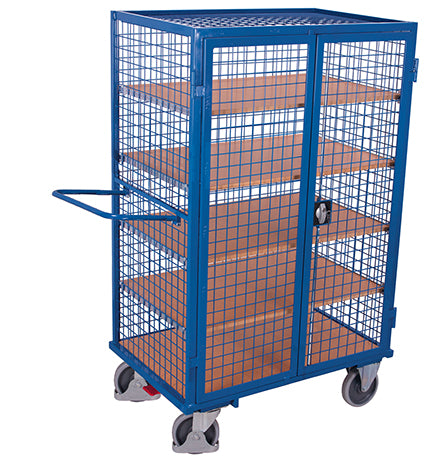 Mesh Shelf Trolley