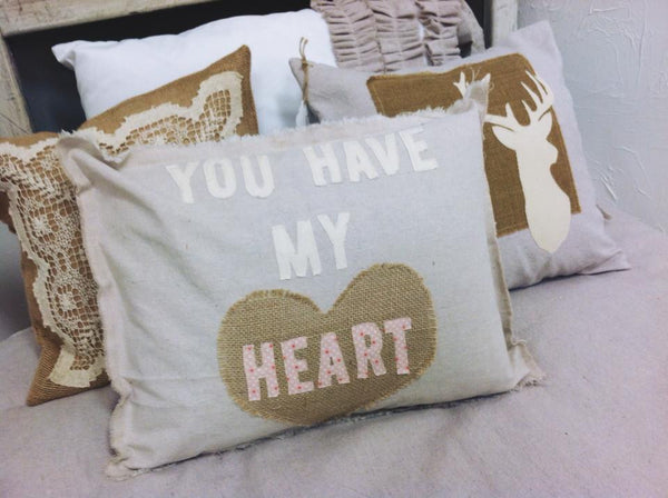 You Have My Heart Pillow