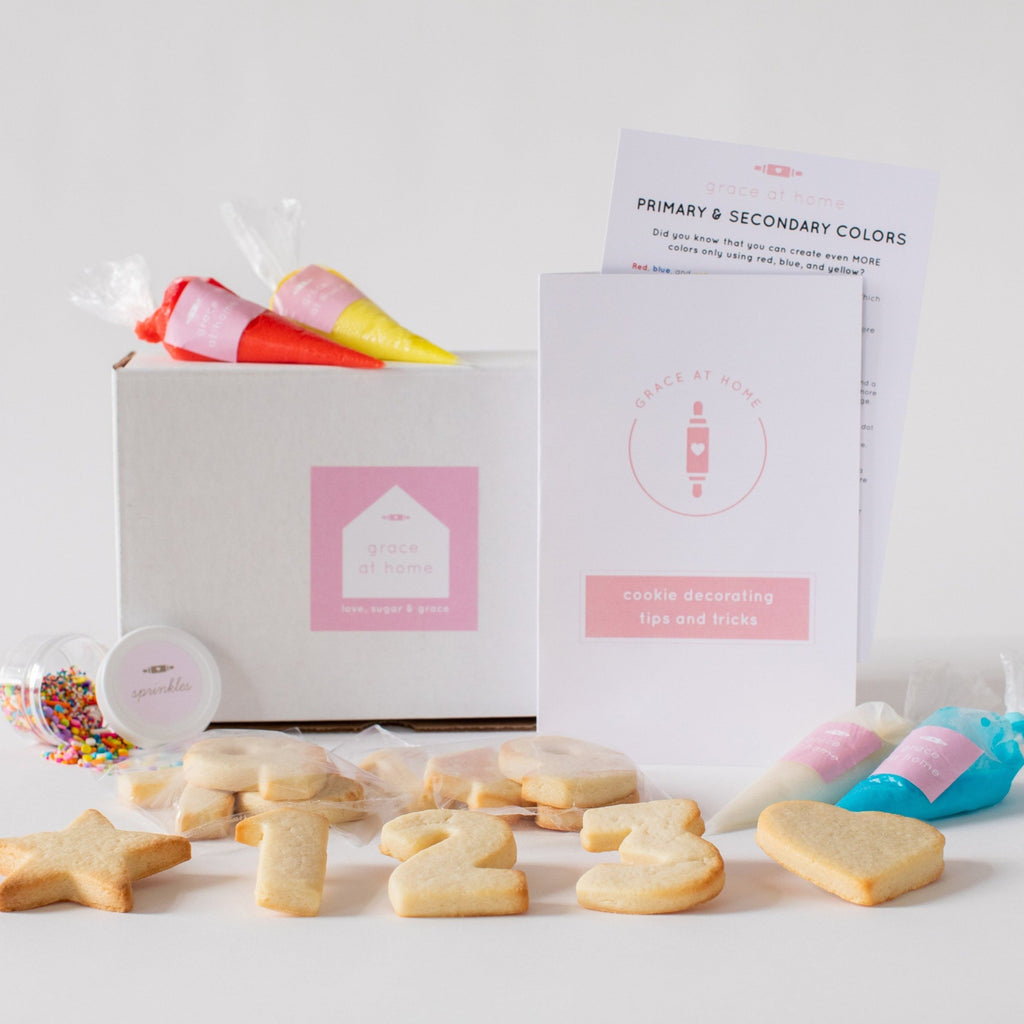 Numbers and Shapes Cookie Decorating Kit