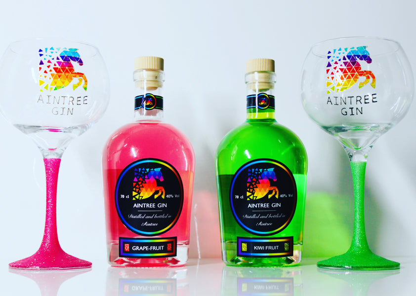 Aintree Gin - Liverpool based gin brand