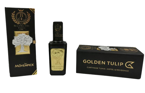 BEST OLIVE OILS TUNISIA CUSTOMIZED PACKAGING 100 Pieces