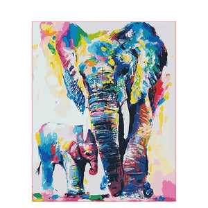 Color elephant