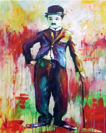 Colorful Chaplin