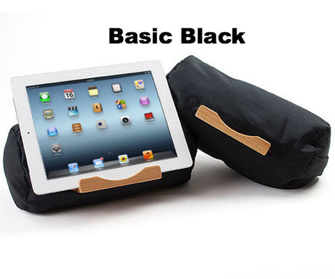 Lap Log Classic Tablet Stand - Solid Colors Basic Black