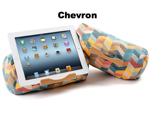 Lap Log Classic Tablet Stand - Prints Chevron Seven