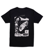 Load image into Gallery viewer, Launch Tee Black