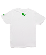 Load image into Gallery viewer, Logo Tee Lucky Green White