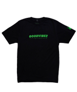 Load image into Gallery viewer, Logo Tee Lucky Green Black