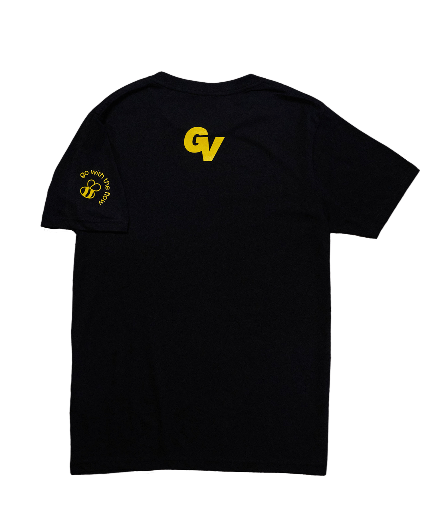 Logo Tee Honey Gold
