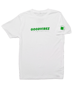 Logo Tee Lucky Green White