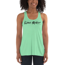 Load image into Gallery viewer, Wave Maker Flowy Racerback Tank