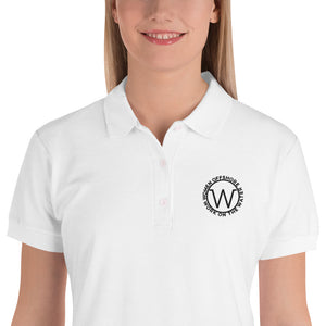 Embroidered Women's Polo