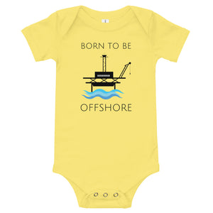 Born To Be Offshore Baby One Piece