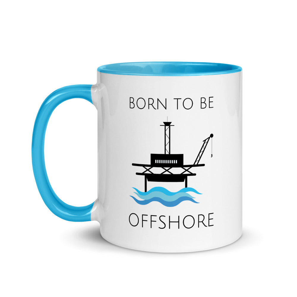 Born To Be Offshore Mug