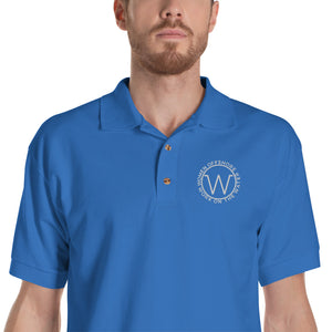 Embroidered Men's Polo Shirt
