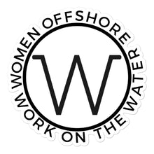 Load image into Gallery viewer, Women Offshore Round Sticker