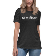 Load image into Gallery viewer, Wave Maker Ladies' Cozy Tee