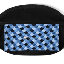 Load image into Gallery viewer, Blue Mermaid Fanny Pack, Limited Edition