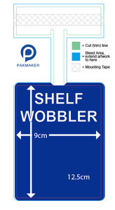 Custom Shelf Talker Wobber