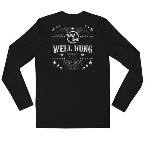 Long Sleeve Fitted Crew (2-Colors Available)