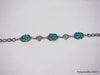 Natural turquoise bracelet 7 inches
