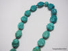 Natural pure turquoise beads bracelet 7.8 inches