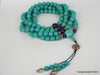 Blue Natural turquoise necklace 40 inches