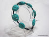 Natural turquoise bracelet 8.2 inches