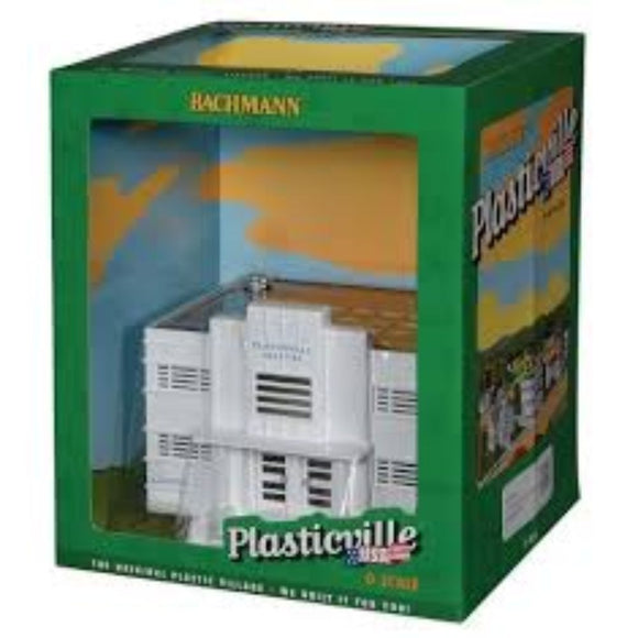 Bachmann Plasticville Hospital with Furniture