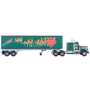 Lionel Christmas Tractor and Trailer