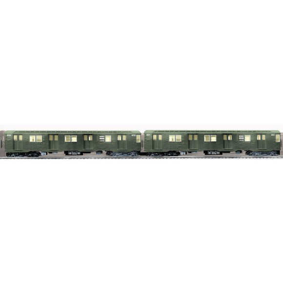 Lionel New York City Transit Authority R27 Subway Car 2-Pack