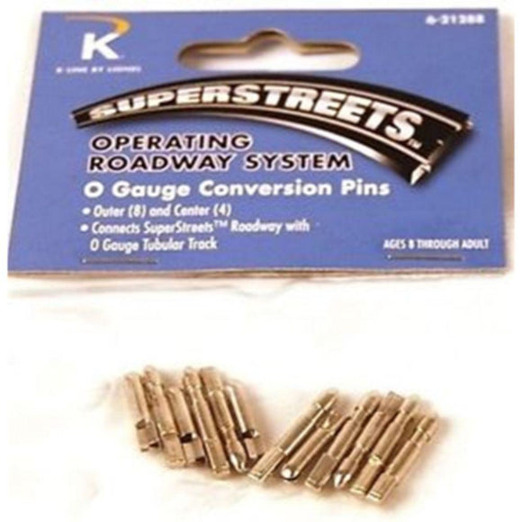 K-Line Superstreets O Gauge Conversion Pins
