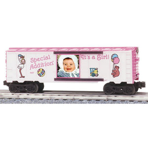 "K-Line Special Addition ""It's a Girl"" Boxcar"