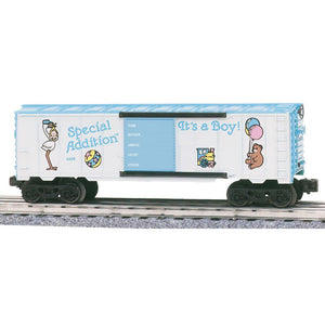 "K-Line Special Addition ""It's a Boy"" Boxcar"