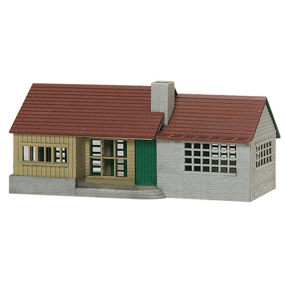 K-Line Suburban Ranch House Snap Together Building Kit