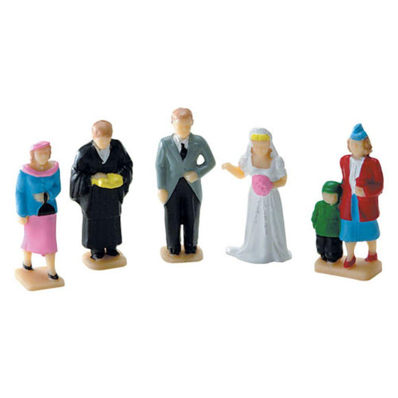 K-Line City and Church Painted Figures