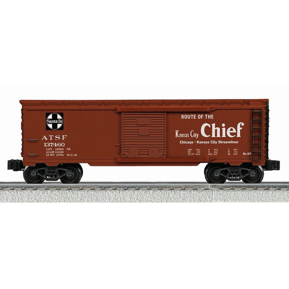 K-Line Santa Fe Kansas City Chief Map Boxcar