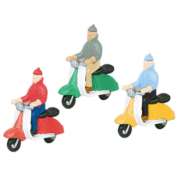 K-Line Scooter Gang Painted Figures