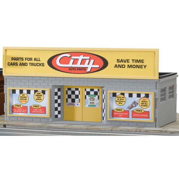 K-Line Auto Parts Store Snap Together Building Kit