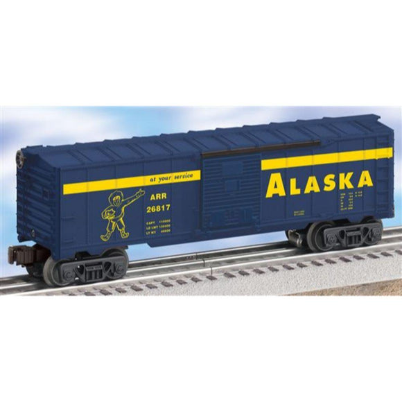 Lionel Alaska Boxcar with Diesel Trainsounds