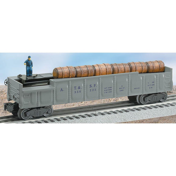 Lionel #3562-25 A.T&S.F. Operating Barrel Car