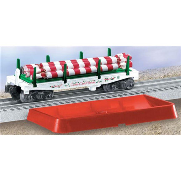 Lionel Christmas Candy Cane Dump Car