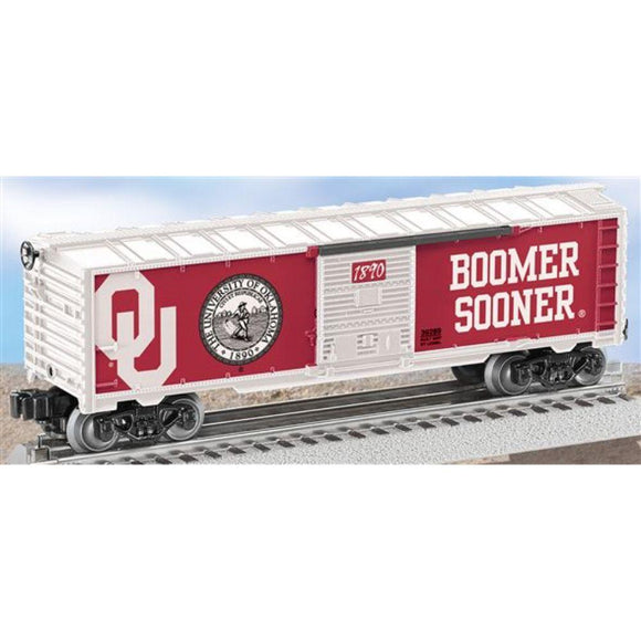 Lionel University of Oklahoma Boxcar