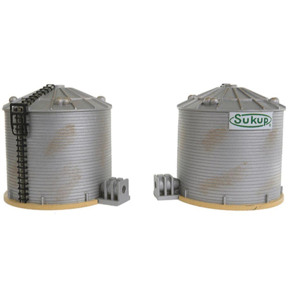IMEX Sukup Grain Tower Pack of 2 (HO)