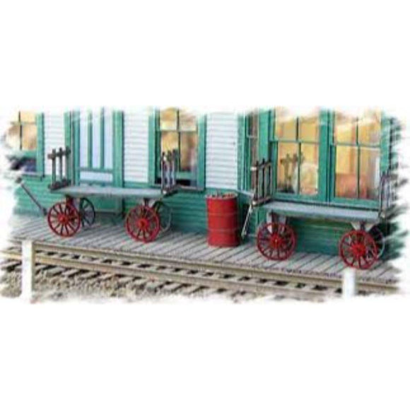 Bar Mills Basics O Scale REA Baggage Cart Kit