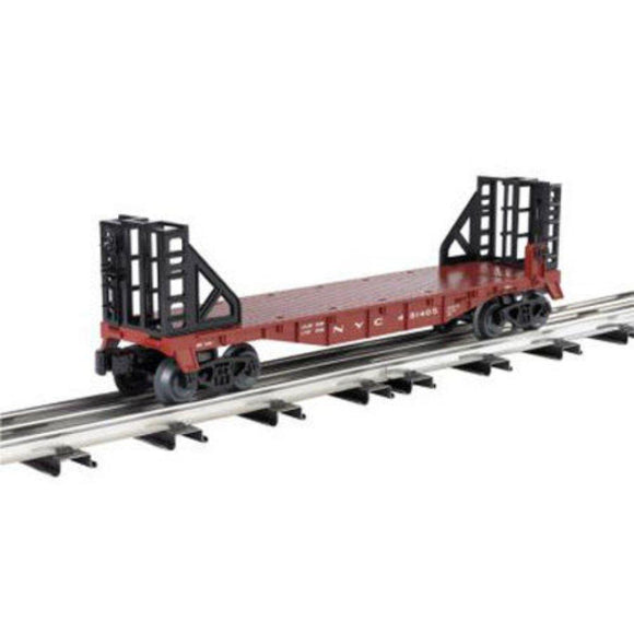 Williams 40' Flat Car w/ Bulkheads - New York Central