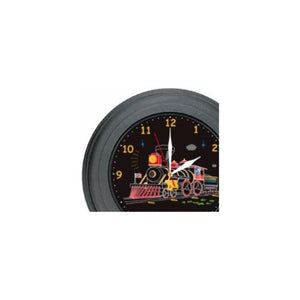 Electro Motion Train Wall Clock