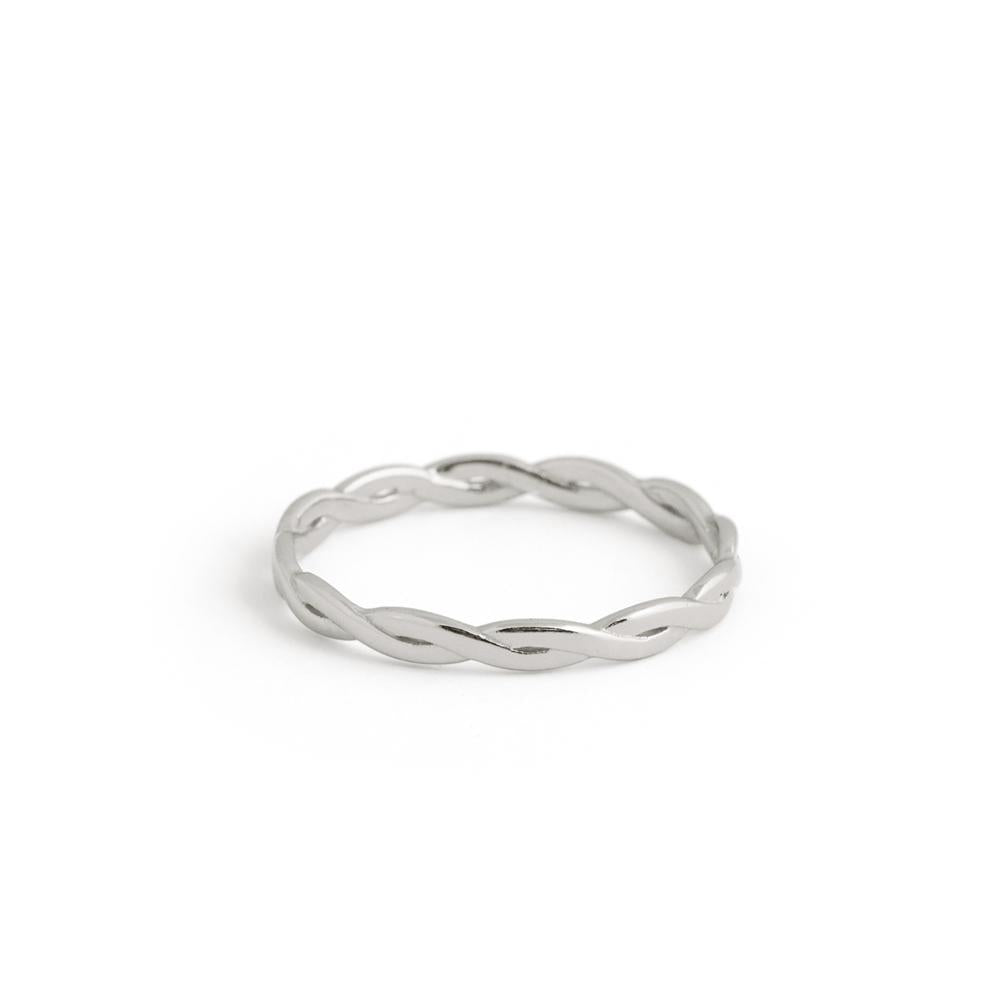 Bague Braided - Argent Sterling
